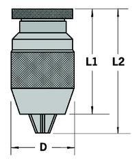 C30 Classic Keyless Drill Chucks