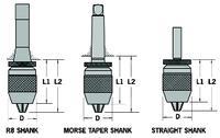 CP160 Classic Plus Keyless Drill Chucks