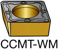 CoroTurn 107 CCMT-WM GC3215 80 Degree Rhombic Carbide Turning Insert