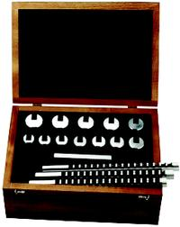 Minute Man 15 Piece Metric Keyway Broach Set