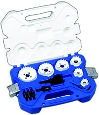 15 Piece Carbide Hole Cutter Kit