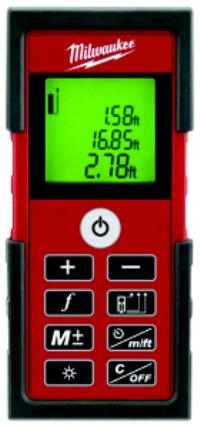 AA Cordless Laser Distance Meter