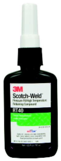 Green 3M™ Scotch-Weld™ Pressure Fit Retaining Compound RT 40
