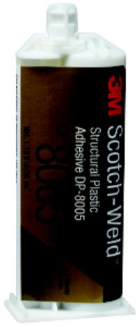 Translucent 3M™ Scotch-Weld™ Structural Plastic Adhesive DP8005