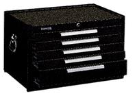 W27IN xD18IN xH16 5/8IN  5 Drawer Mobile Cabinets