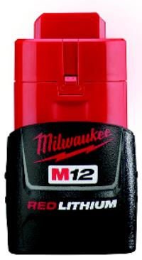 M12 12V Compact REDLITHIUM Battery
