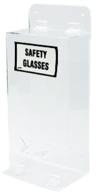 W/Cover Safety Glasses Dispenser