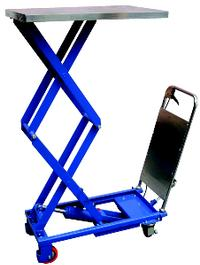 220lb Capacity Hydraulic Elevating Carts