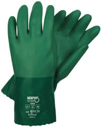 Large/9 Green Neoprene Chemical Resistant Gloves