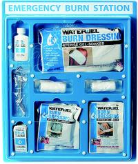 Large Wall Mounted Burn Kit