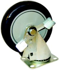 5IN  Light Medium Duty Plate Casters
