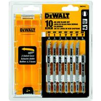 10 Piece Jig Saw Blade Set