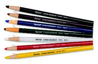 Markal White Peel-Off China Markers