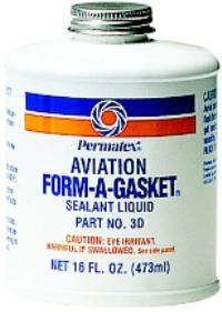 Aviation Form-A-Gasket 16oz Bottle Number 3 Sealant