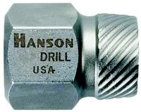 Hanson  1/8IN  Multi-Spline Screw Extractors
