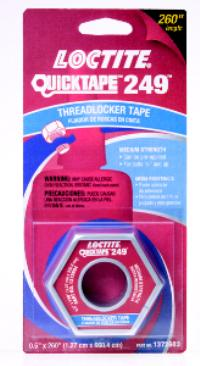 Blue 249 QuickTape Blue Threadlocker Tape