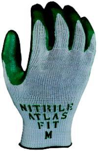 Atlas Large/9 General Purpose Nitrile Coated Gloves
