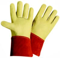 Small/7 Grain Cowhide Leather Welder Gloves