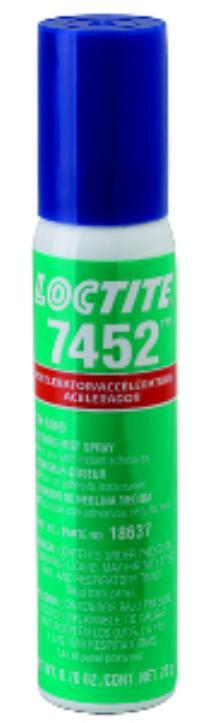 1.75oz Brush Cap Bottle 7452 Tak Pak Surface Preparation Accelerators