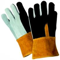 Large/9 Foundry Welders Leather Gloves
