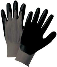 XSmall/6 Nitrile Coated Nylon Gloves