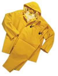 Medium (38-40) 3 Piece Polyester Rain Suit
