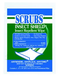 Scrubs Insect Shield  Insect Repellent Wipes