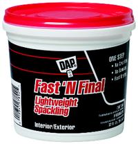 Fast N' Final 1qt Lightweight Spackling (RTU)