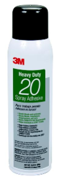 13.8oz Aerosol Net Wt. 3M™ Heavy Duty 20 Spray Adhesive