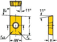 CoroMill 216 GC4240 Shank Protection Insert