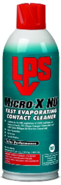Value Performance 11oz Aerosol Net Wt. Micro-X NU Contact Cleaner