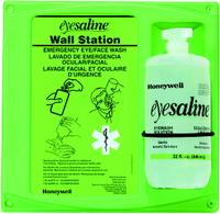 32oz Single Saline Eyewash Wall Stations