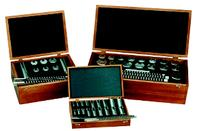 Minute Man 8 Piece Keyway Broach Precision Set No. 00