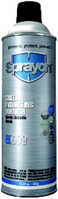 15.25oz Aerosol Net Wt. EL 609 Green Epoxy Insulating Varnish