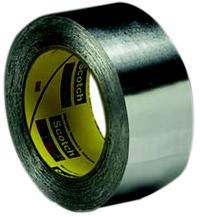 3IN x60yds 3M™ High Temperature Aluminum Foil Tape 433