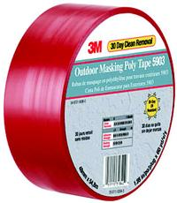 188IN x60yds 3M™ Outdoor Masking Poly Tape 5903