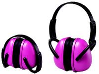 Girl Power at Work 23dB Pink Folding Earmuffs