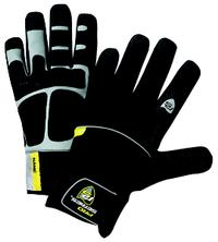 Large/9 Waterproof Winter Glove with PVC Grip