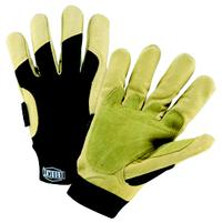 Small/7 Winter Lined Heavy Duty Grain Pigskin Hi Dexterity Gloves