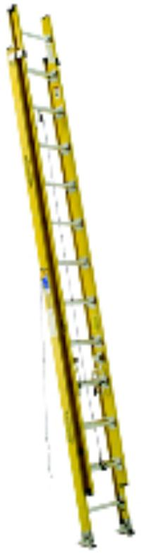 D7100-2 Series 24' Fiberglass D Rung Extension Ladders