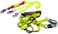 Tie-back Shock Absorbing Lanyard