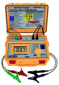 Portable Battery Powered Milliohm Meter