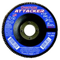 Ovation Attacker 120 High Density Flap Discs