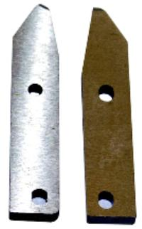Side Knife Right Gauge Shear Blades