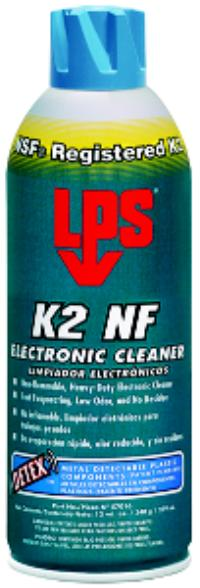 DETEX 11oz Aerosol Net Wt. K2 NF Electronic Cleaner