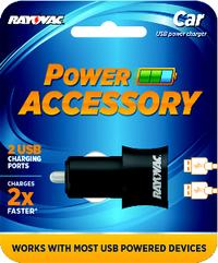 Dual USB Battery Charger