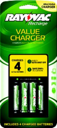 Value AAA or AA Battery Charger