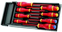 FACOM 8 Piece VE 1,000 Volt Insulated Screwdriver Set