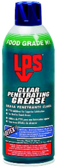 DETEX 11oz Aerosol Net Wt. Clear Penetrating Grease
