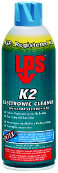 DETEX 11oz Aerosol Net Wt. K2 Electronic Cleaner